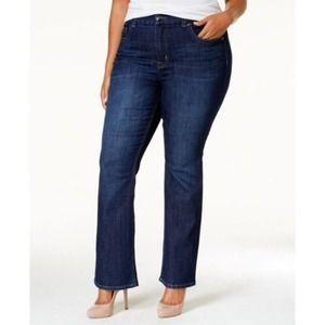 Melissa McCarthy Seven7 Boot Cut Jeans Size 28